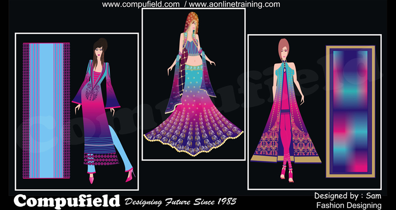 Certification In Fashion Designing Coreldraw Photoshop