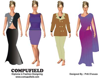 Online school of computer art knitwear fashion design Online clothing design software