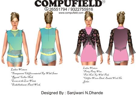 Compufield Illustrator Tutorials Fashion Fashion Designing Programs Computer Aided Designing Cad Fashion Design Colleges Courses Bandra Mumbai India