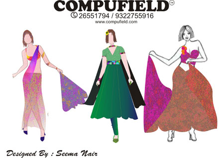 Computer Institute Coreldraw Tutorials Fashion Fashion Designing Programs Computer Aided Designing Cad Fashion Design Colleges Courses Mumbai India