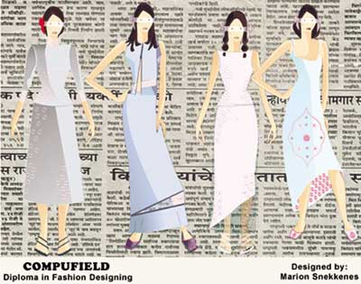 Institute College School Of Computer Aided Fashion Designing Courses India Mumbai