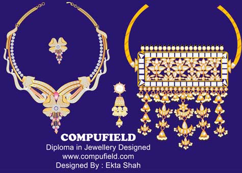 Courses Designing Courses Our Students Jewellery Designing Projects