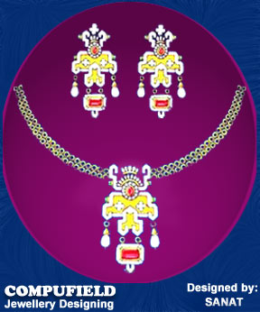 Student Jewellery Designing Project for Compufield Importing files from Coreldraw or any other applications .