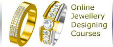 """jewelcad distance education courses,  computer based jewellery, jewelry, jewelry, jewelery designing in gold, platinum, diamonds, professional internet learning of necklaces, bracelets, rings, earrings designs"""