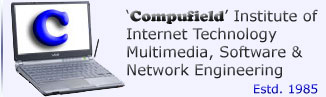 """Compufield -computer Institute specialized in fast track courses-multimedia,web designing,software engineering,certification courses,fashion,jewellery,interior designing courses. India,Bombay(Mumbai)."""