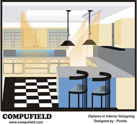 Institute Offer Course In Interior Designing Decoration Using Auotdesk Autocad 3d Studio Max Cad
