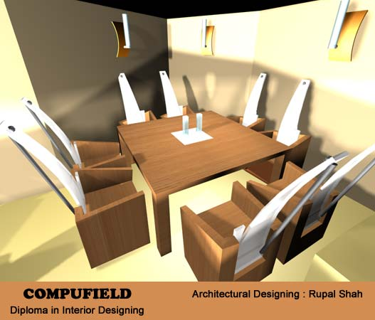 training short term interior design and decoration using autodesk
